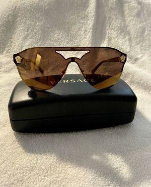 Authentic Versace mirrored Women's/Men sunglasses for Sale in Louisburg, NC