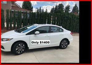 Price$1400 Honda Civic for Sale in Sacramento, CA