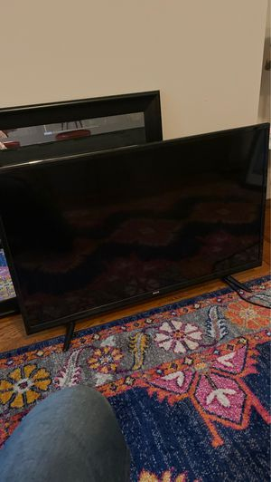 40 inch RCA slimline tv with box (missing remote) for Sale in Jersey City, NJ