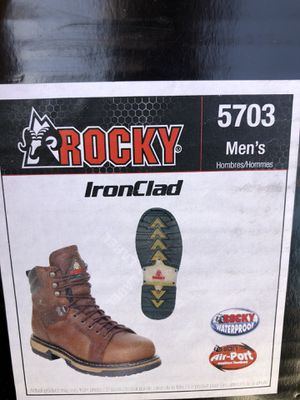 Rocky Ironclad 5703 work boot 11W for Sale in Diamond Bar, CA