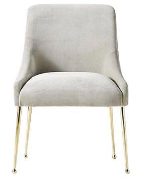 Anthropologie Velvet Elowen Chair (Set of 2) for Sale in New York, NY