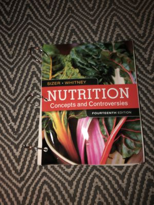 Nutrition: Concepts and Controversies 14th Edition for Sale in Visalia, CA