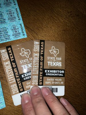 State Fair passes & coupons for Sale in Dallas, TX