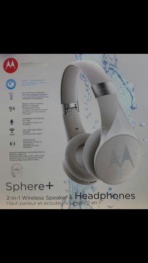 Motorola Sphere+ Bluetooth speaker/Headphone for Sale in Queens, NY
