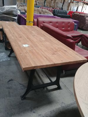 Solid wood Table. 76x36x30. Brand new in box for Sale in Ontario, CA