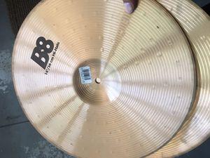 Sabian b8 hi hats. Good condition no cracks. for Sale in Corona, CA