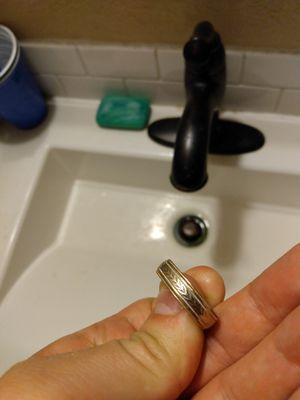Zales 14k, Sterling silver Men's ring for Sale in Denver, CO