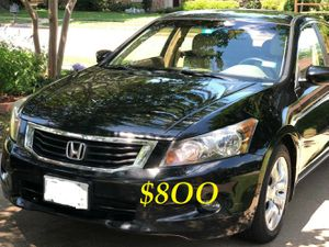 🔑💲8OO URGENT I sell my family car 🔑2OO9 Honda Accord Sedan V6 EX-L power start Runs and drives very smooth!.🔑🔑🔑 for Sale in Anaheim, CA