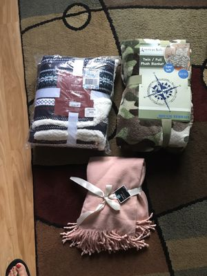 Brand New Blankets! for Sale in Brentwood, NC
