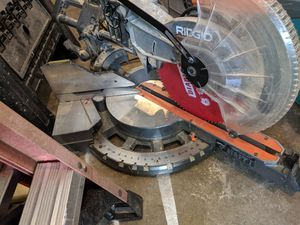 """Rigid 12"""" Compound Slide Miter Saw for Sale in Columbus, OH"""