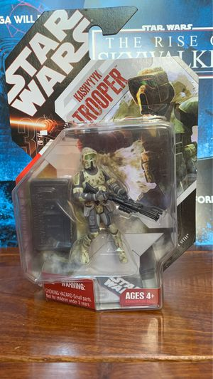 Star Wars Kashyyyk Clone trooper with Stand Action Figure for Sale in Castro Valley, CA