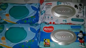 Pampers and Huggies baby wipes* $1.50 a pk. for Sale in Toledo, OH