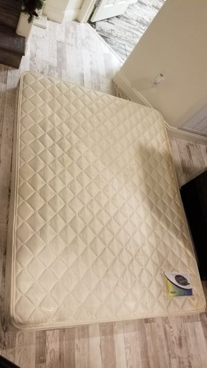 Queen Box Spring and Bed for Sale in Las Vegas, NV