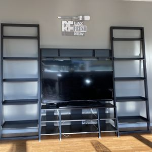 2 Ladder bookcases & TV Stand for Sale in Ocean Shores, WA