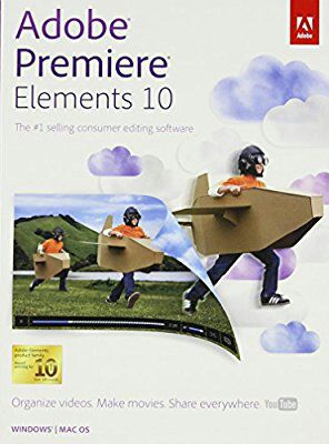 Adobe Premiere Elements 10 for Sale in Irving, TX