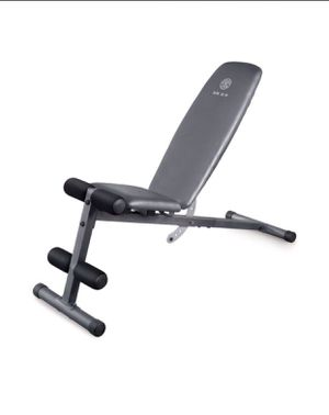 Weider WEBE4869 XR 5.9 Adjustable Slant Workout Bench with 4 Roll Leg Lockdown Incline Bench Decline Bench and Flat Bench for Sale in West Covina, CA