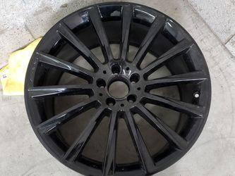 "1 Rear Mercedes S550 Amg Original 20"" Black Wheel Rim for Sale in Los Angeles,  CA"