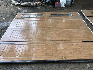 9'x8' Garage Doors Panels for Sale in Raleigh, NC