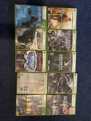 XBOX 360 GAMES for Sale in Sanford, FL