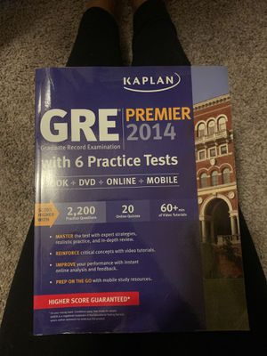 GRE PREP BOOK WITH CD for Sale in Maple Grove, MN