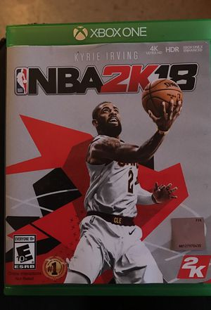 2k18 ( Xbox one) for Sale in New York, NY
