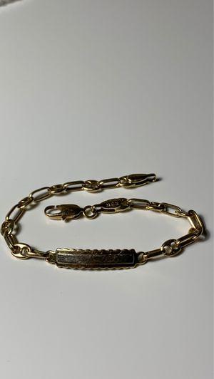 REAL Solid 14k gold bracelet for Sale in Bellevue, WA