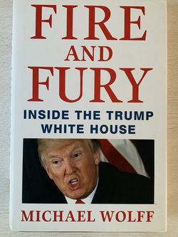 Fire and Fury Hardcover Book for Sale in Carlsbad,  CA