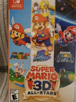 Super Mario 3D All Stars Nintendo Switch Good Condition for Sale in Tacoma,  WA