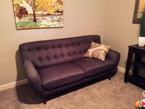 Mid century modern couch and matching chair for Sale in Clovis, CA