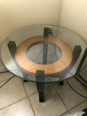Side glass table for Sale in Miami, FL