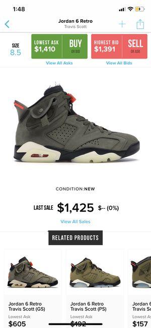 Travis Scott x Nike Jordan 6 for Sale in Phoenix, AZ