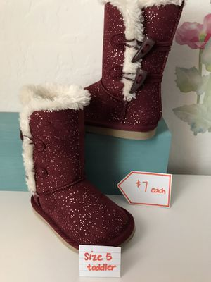 Toddler Girls Boots and Mocs for Sale in Las Vegas, NV