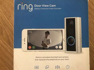 Ring Doorbell (peep hole view) for Sale in Auburn, WA