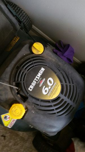Craftsman Lawn Mower 6.0HP for Sale in San Francisco, CA