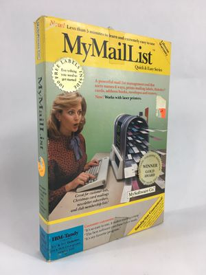 """My Mail List Vintage IBM Tandy Software 5.25"""" & 3.5"""" Floppy - Complete! for Sale in Trenton, NJ"""