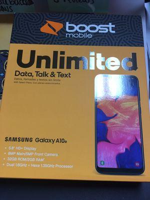 Samsung A10 e boost mobile for Sale in Phoenix, AZ