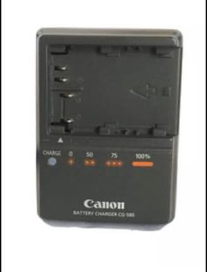 Genuine Canon OEM Battery Charger CG580 for 5D 50D 40D 30D for Sale in San Leandro, CA