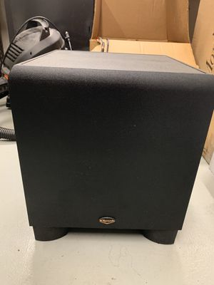 Klipsch KSW-10 10-Inch 225-Watt Subwoofer (Black) for Sale in Lake Forest, CA