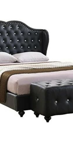 King-size tufted bedframe. for Sale in University Place,  WA