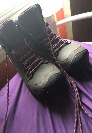 Women size 9 wide work boots for Sale in Roseville, MI