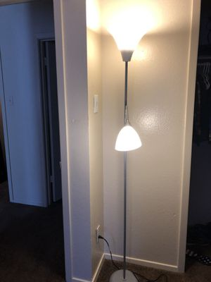 Silver lamp for Sale in Benbrook, TX
