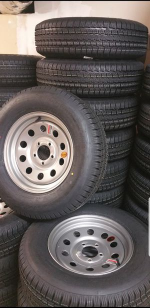 NEW TRAILER TIRES/WHEELS STARTING AT $70+TAX AND UP SEE BELOW ( TIRE AND WHEEL ASSEMBLY) for Sale in Douglasville, GA