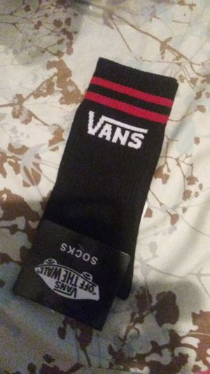 Vans socks... 2 pair for Sale in Concord, CA