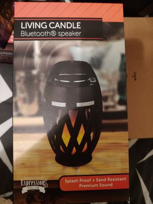 Living candle Bluetooth speaker for Sale in Goose Creek, SC