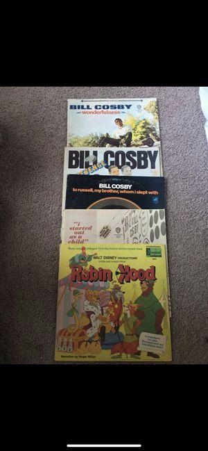 Records lot of 5 Vinyl Records Bill cosby for Sale in Davis, CA