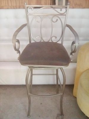 Metal bar stool for Sale in Chula Vista, CA