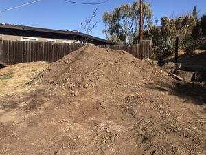 Free fill dirt. Bring a shovel, I have a tractor i can use to help load dirt in smaller trucks. for Sale in Spring Valley, CA
