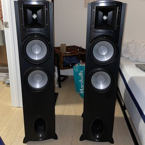 Pair of Klipsch Speakers and Denon AVR for Sale in San Francisco, CA
