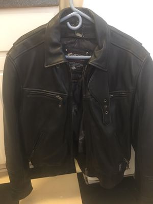 Genuine leather motorcycle jacket for Sale in Obetz, OH