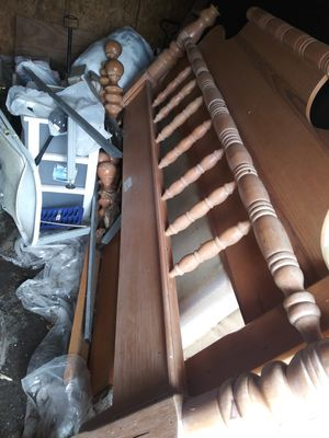 King size wooden frame for free for Sale in Ruskin, FL